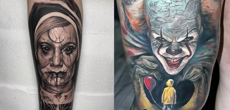 American horror story tattoo