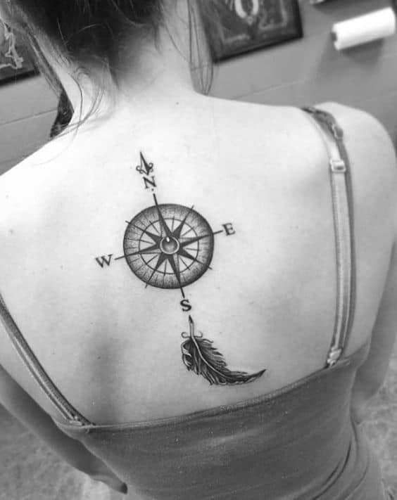 Back tattoo girls