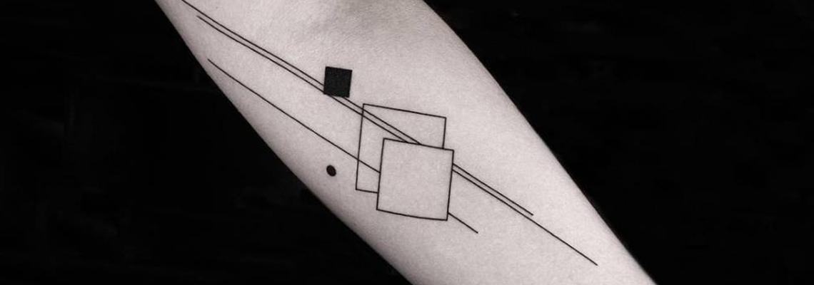 Geometric Tattoo Page
