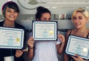 licenses & Certificates for tattoo