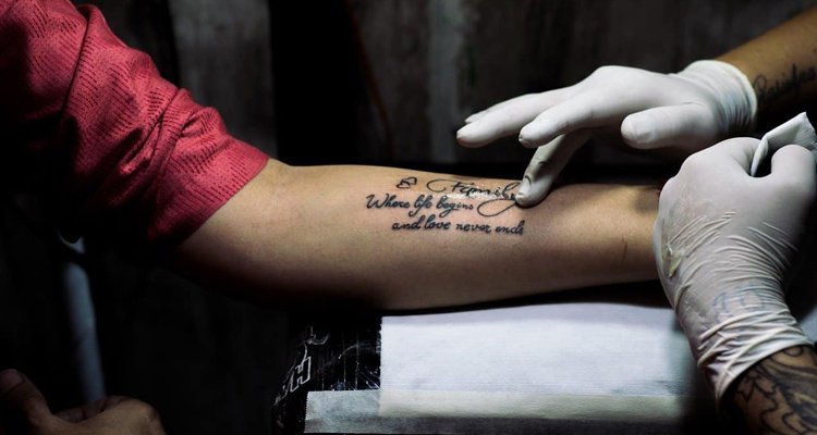 Simple ways to Deal with Pain After Tattoo