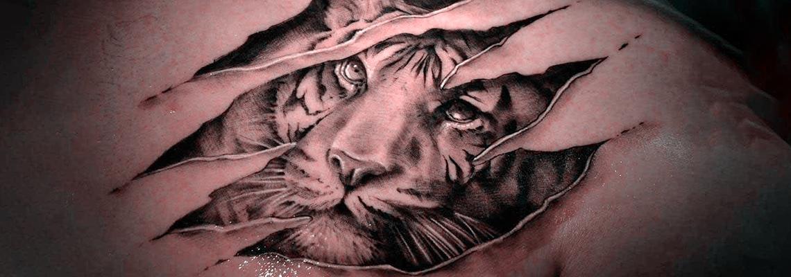 500 Excellent 3d Illusion Tattoos Design Trending 3d Tattoo