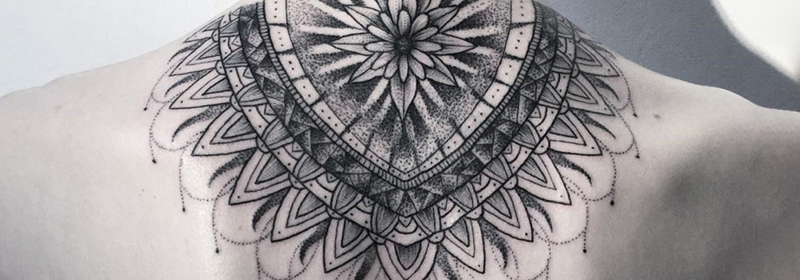 Mandala Tattoo Page