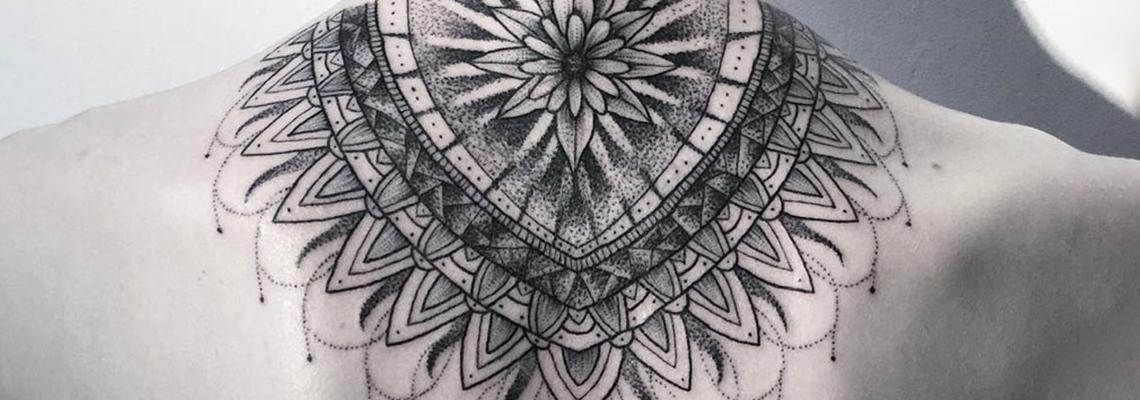 Mandala Tattoo Page
