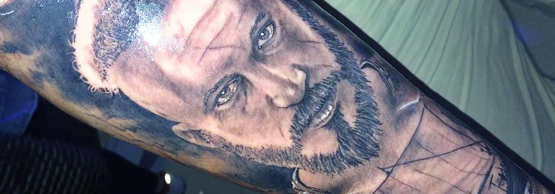 Portraits Tattoo Page