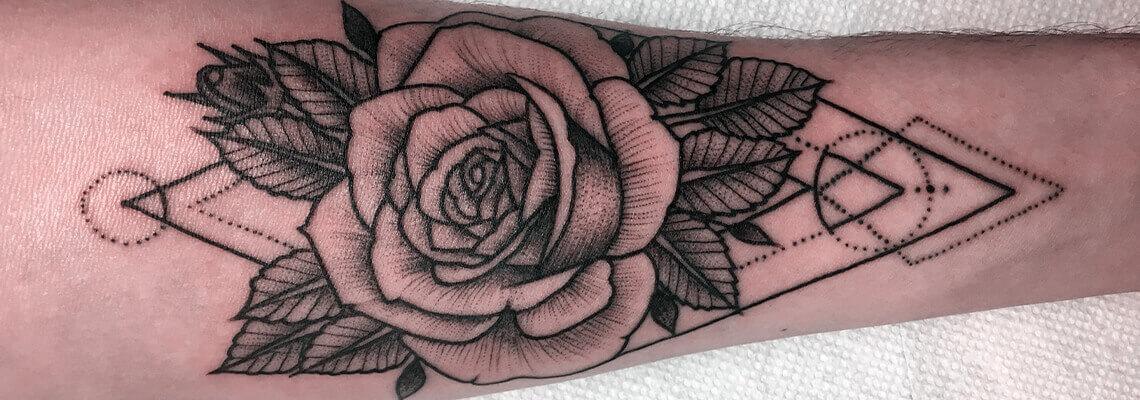 Rose Tattoo Image