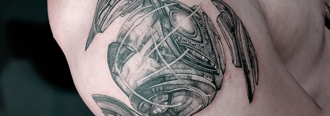 Science Fiction Tattoo Designs