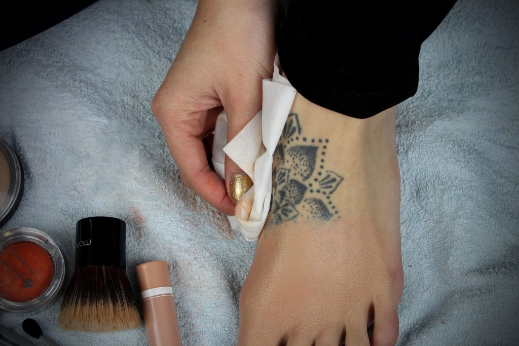 How to cover up a Tattoo