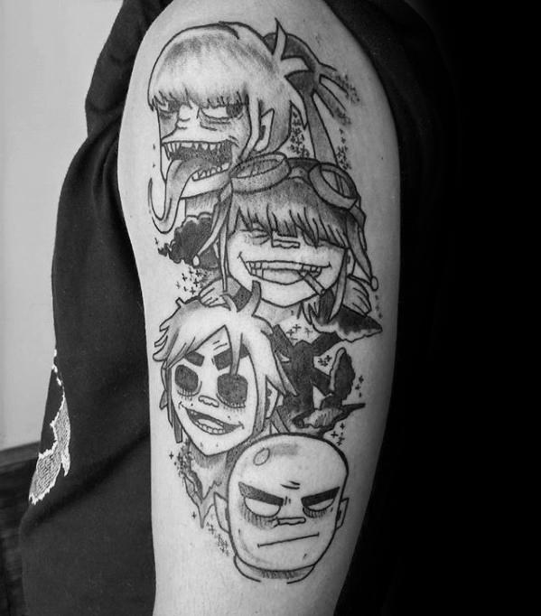 101 Funny Animated Cartoon Tattoo Designs Trending Tattoo
