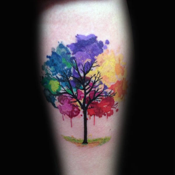 110 Attractive Nature Tattoos Images 3d Scene Trending Tattoo