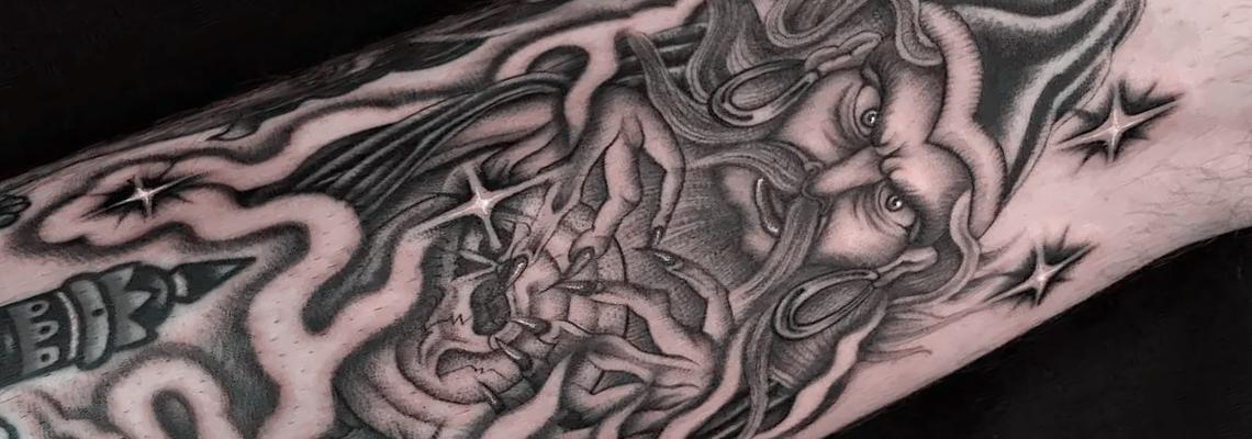 Fantasy tattoo Page