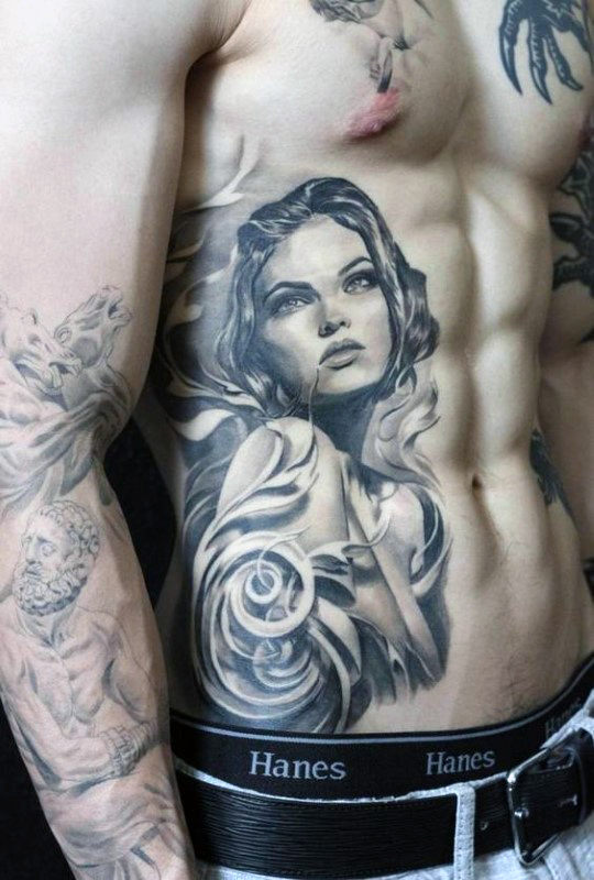 75 Best Rib Cage Tattoos Ideas For Guys Girls Trending Tattoo