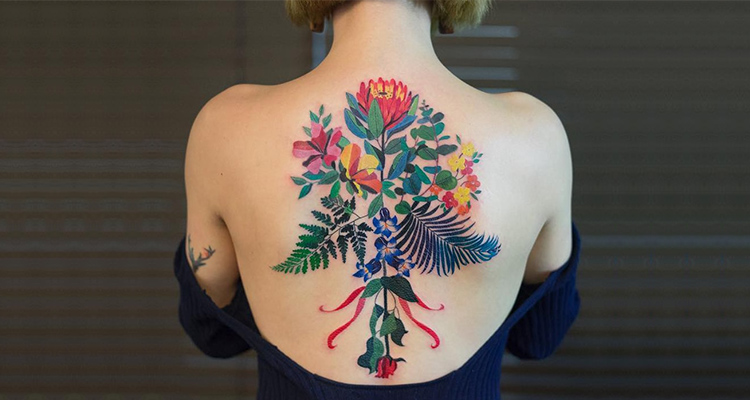 Floral Tattoos A Popular Tattoo Trend