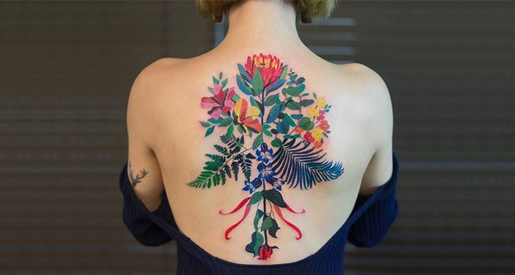 Flower Tattoo A Best Choice Of Girl Tattoo Trending Tattoo