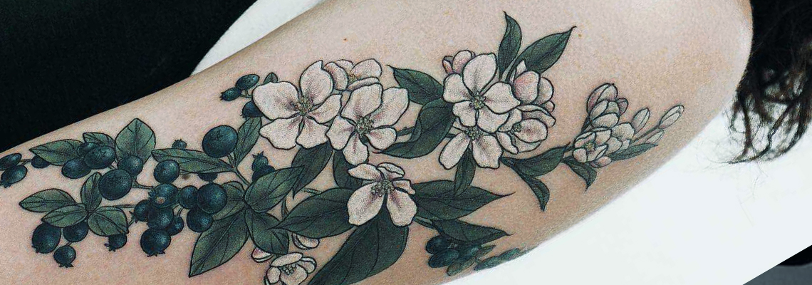 Flower Tattoo Page