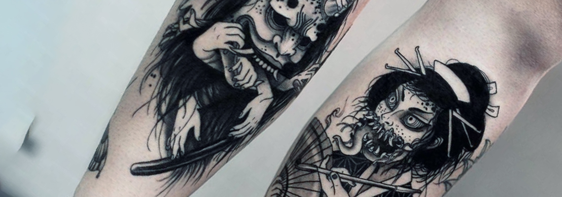 Horror Tattoo Designs