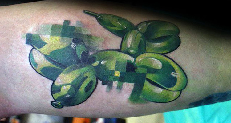Stylish Pixelated Tattoos Are Gearing The Trend
