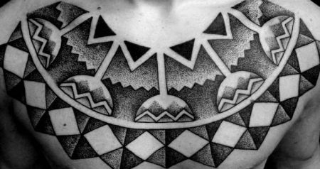 Why the tribal tattoos are also known as BLACK WORK tattoos