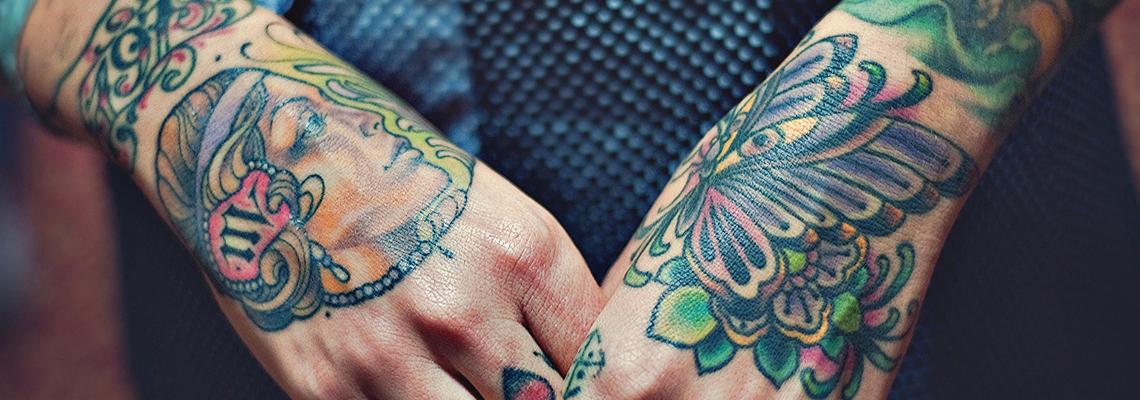 Hand Tattoo Page