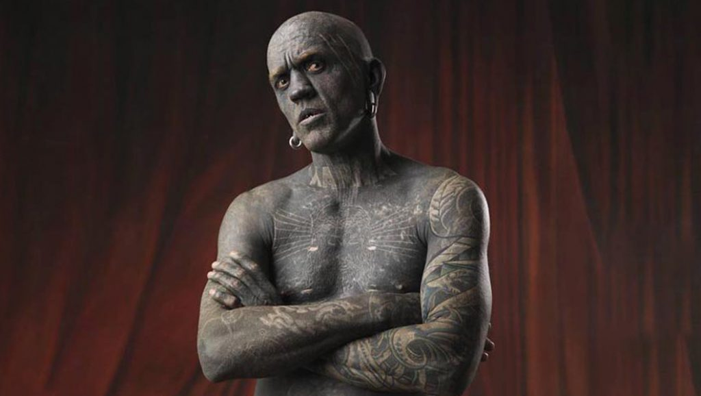 Most tattooed man (current)