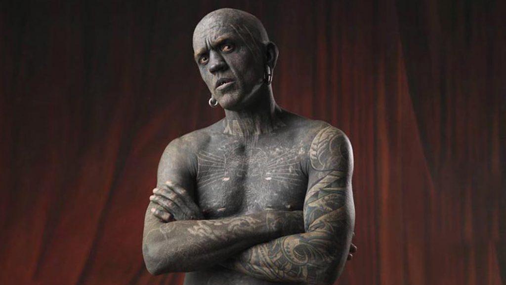 Most tattooed man - World record on tattoos