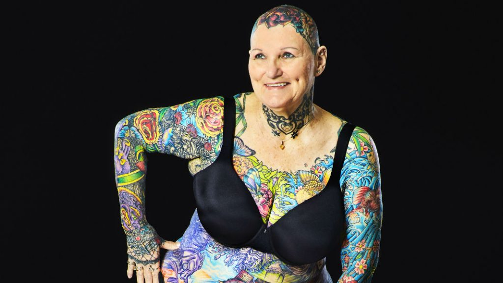 Most tattooed woman (ever)