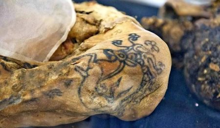 Oldest tattoo