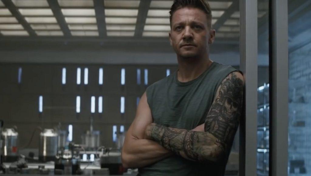 Hawkeye avengers tattoo