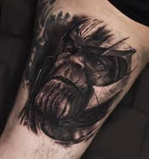 Thanos Tattoo