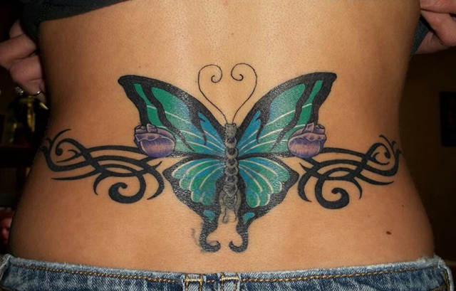 Hot tattoo