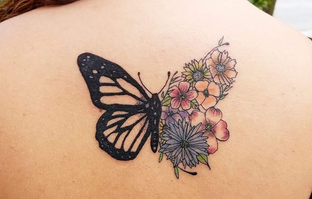 butterfly tattoo for girls