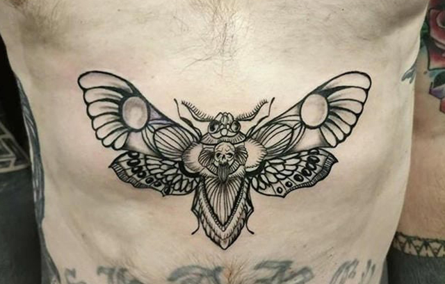 Giant Butterfly tattoos