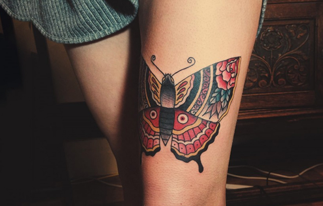 Thigh tattoo for girls 2020