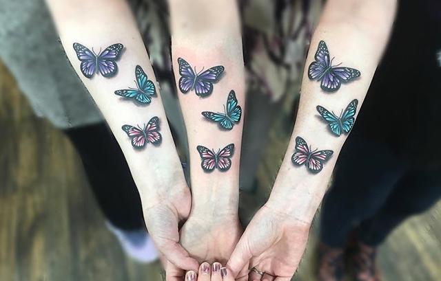 butterflies tattoo designs