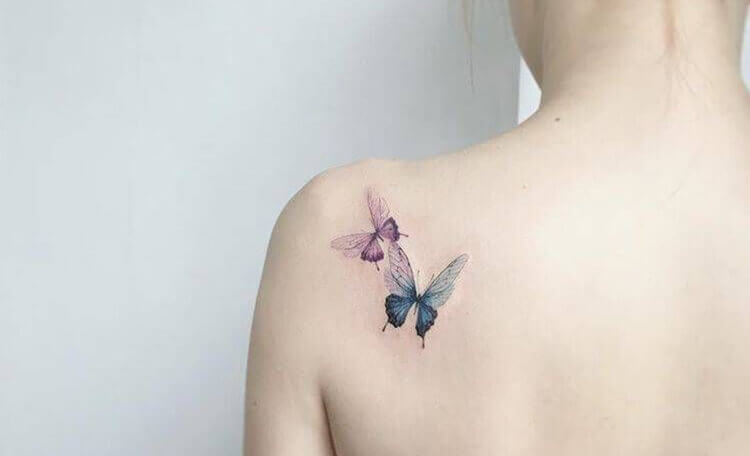 Butterfly-on-your-shoulder-blade
