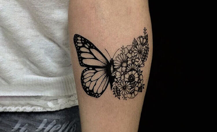 butterfly-with-some-flowers