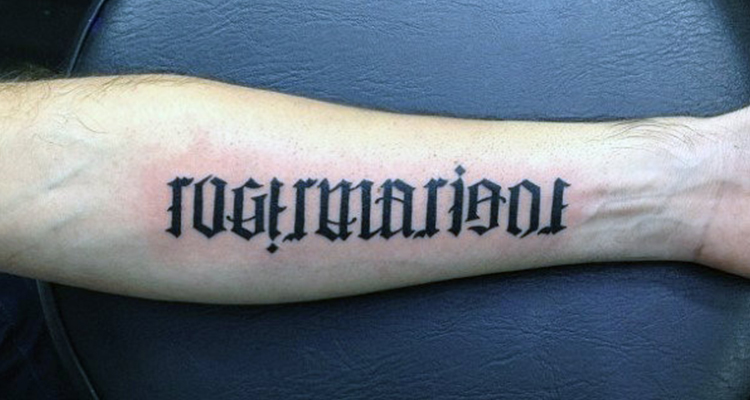 40 Ultimate Ambigram Tattoo Designs