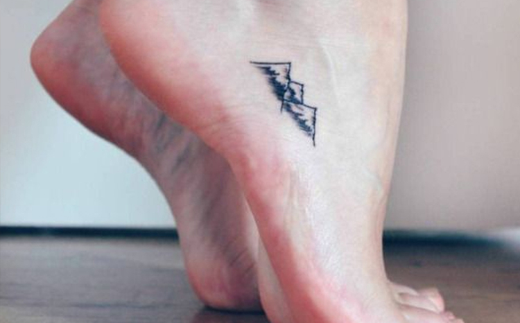 Nature Mountains tattoo