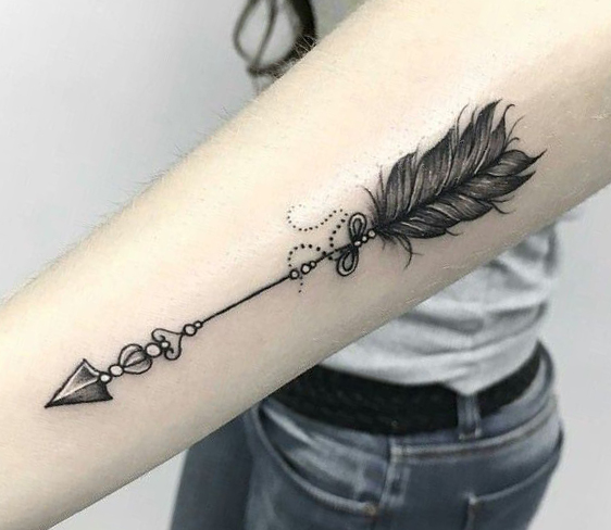 Best Feather tattoo designs