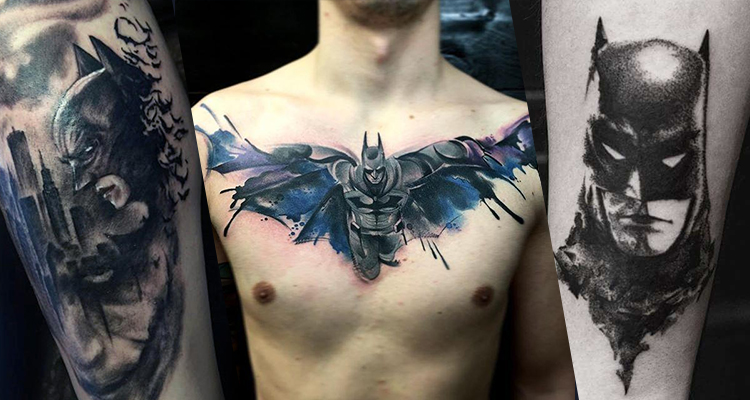 Batman Inspired Tattoo