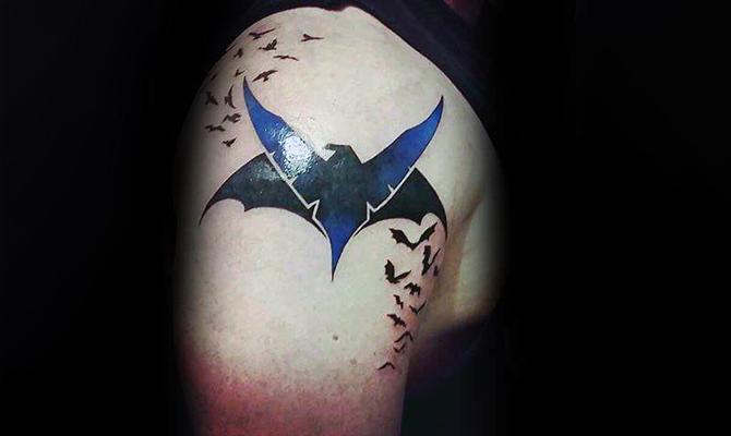 Batman Logo with Other Elements