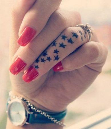 Miniature Star Tattoo