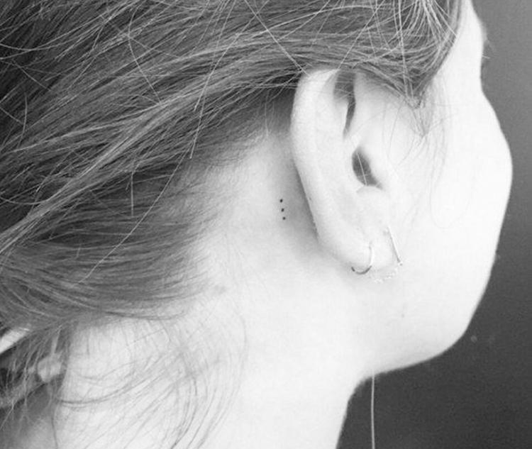 Miniature Dots Tattoo