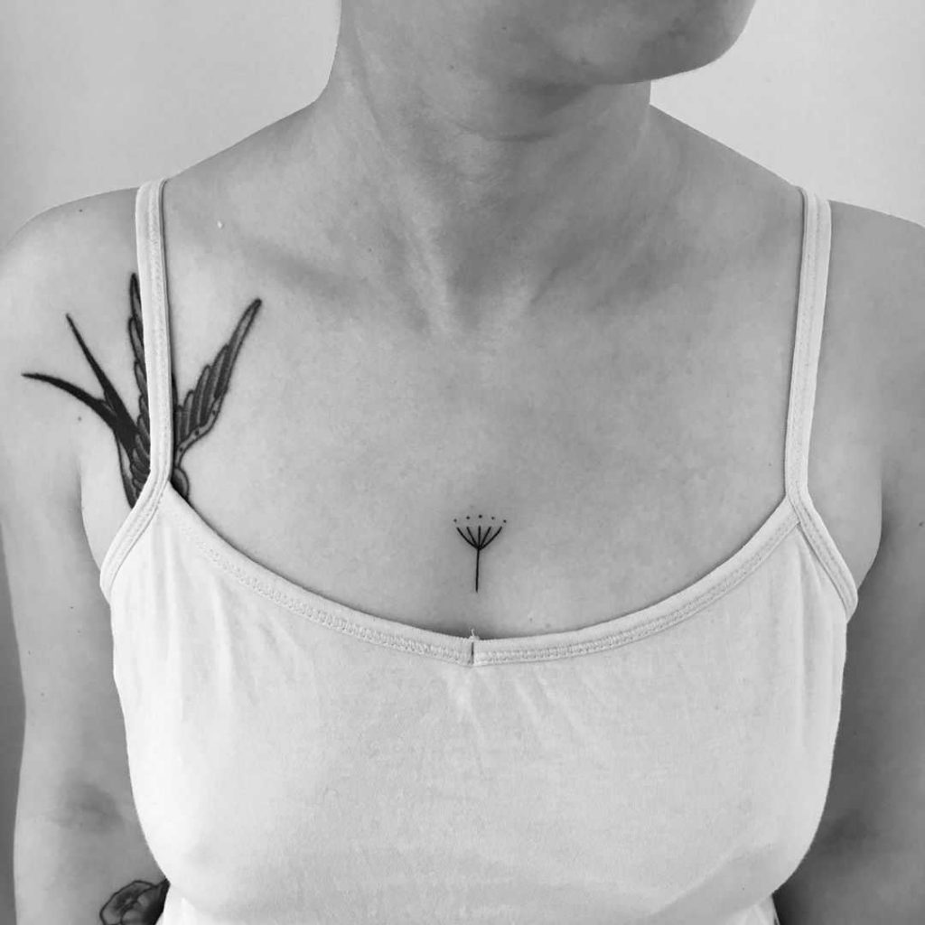 Tiny Umbel Tattoo