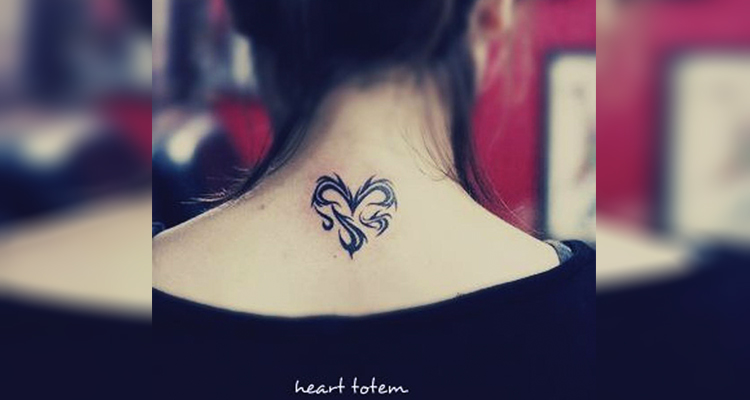 Tribal Heart Tattoos design