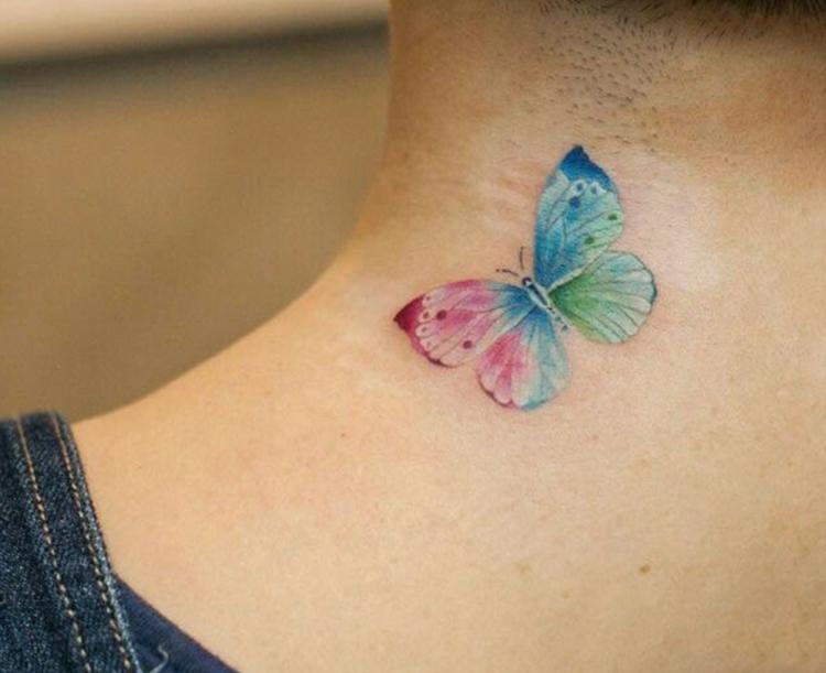 Miniature Butterfly tattoo