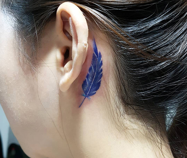Miniature Leaf Tattoo
