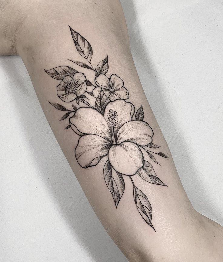 Flower tatoo 2020