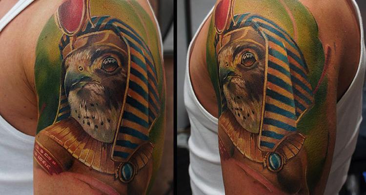 Amun-Ra tattoo