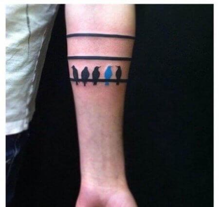 Band Birds Tattoos Design 2020